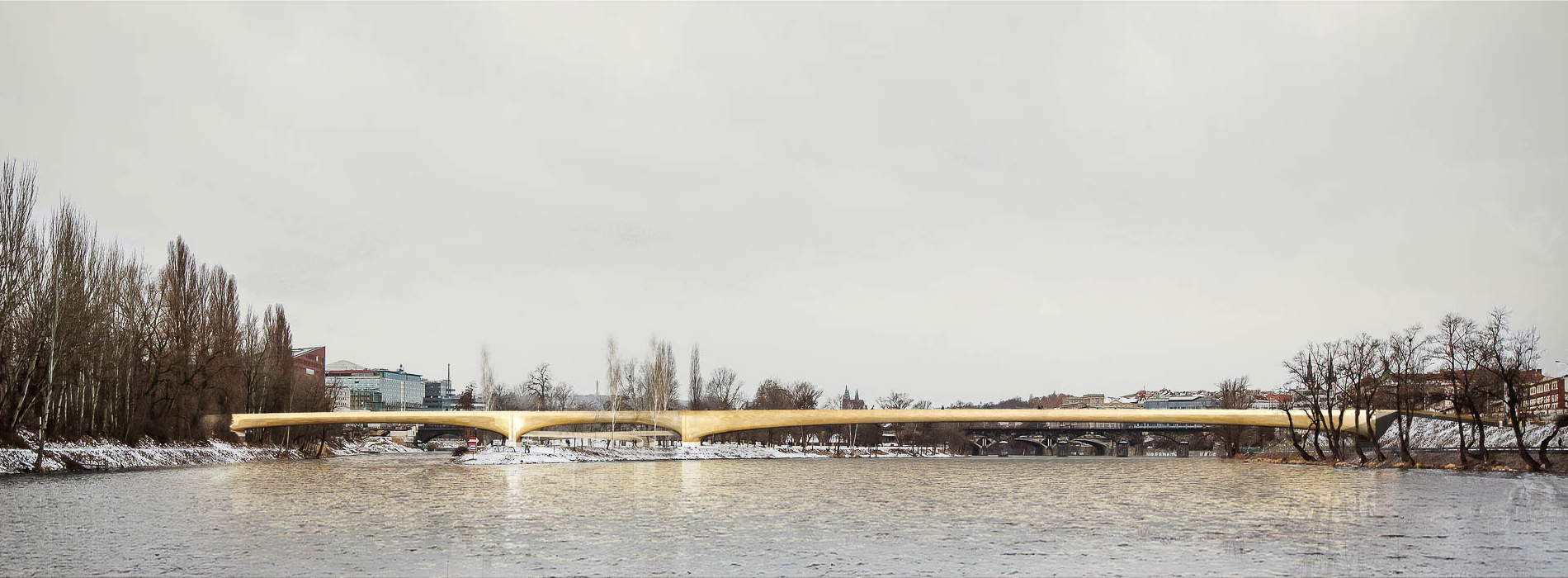 Holešovice – Karlín Footbridge