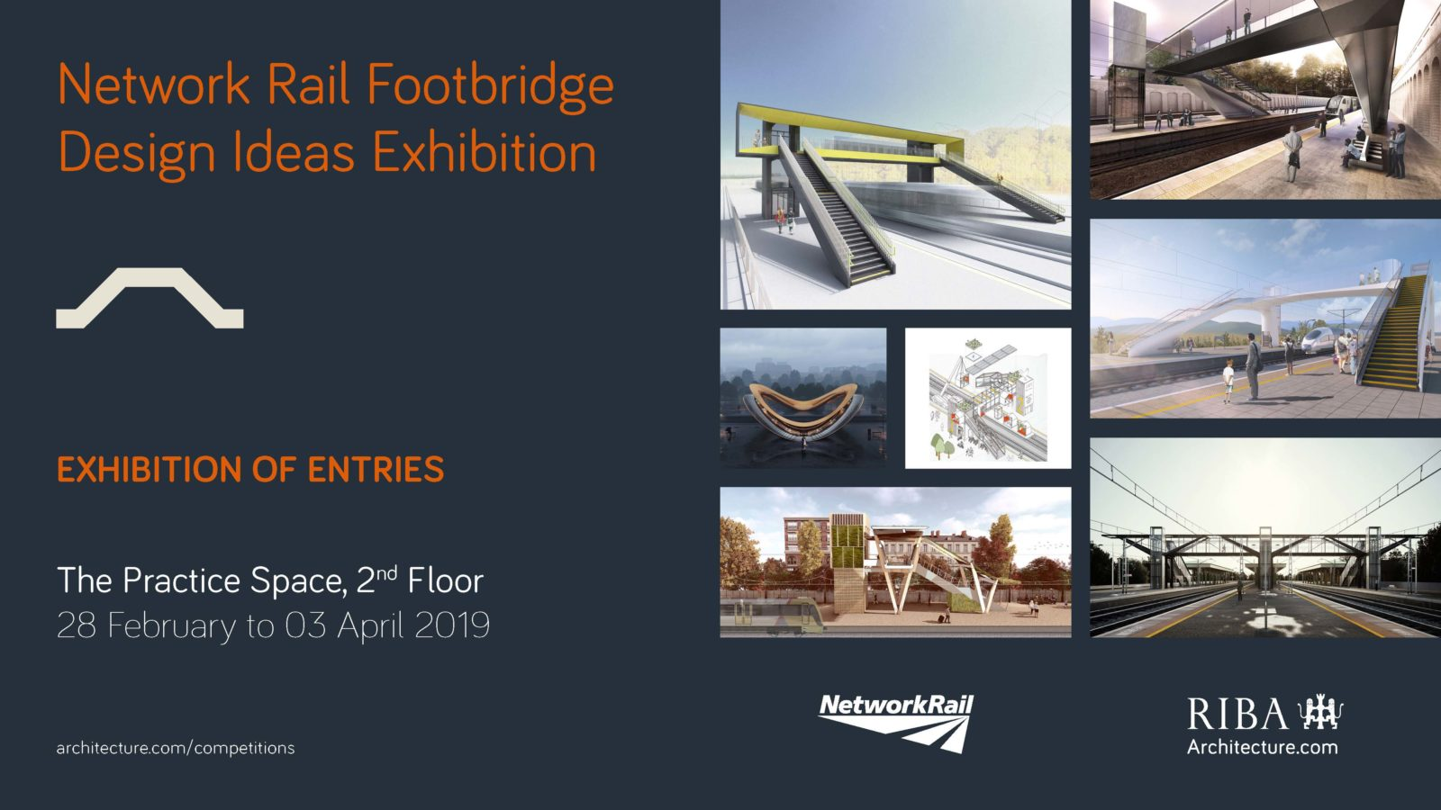 Network Rail Footbridge Designs Exhibition