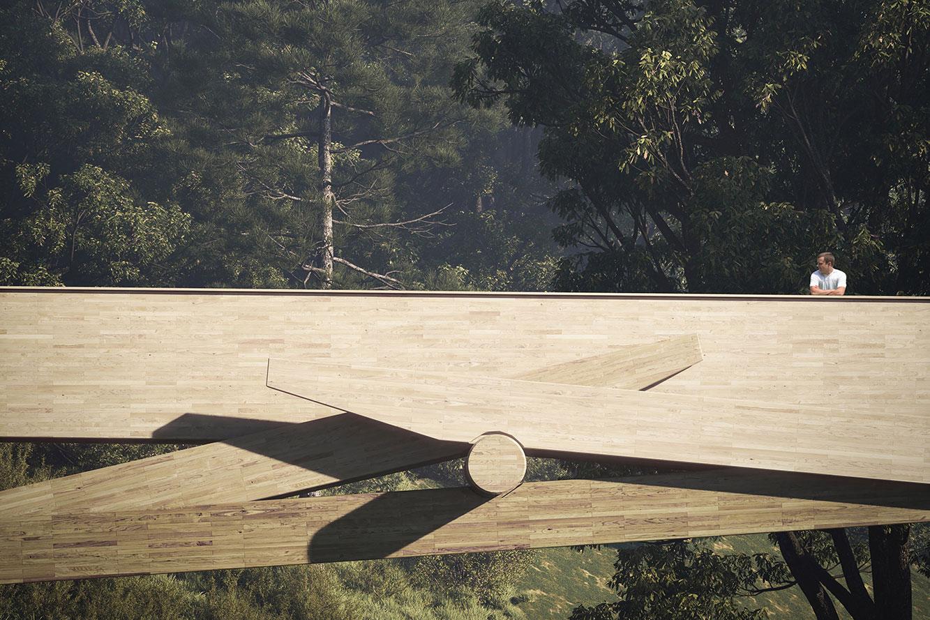 Parco del Lura Footbridge