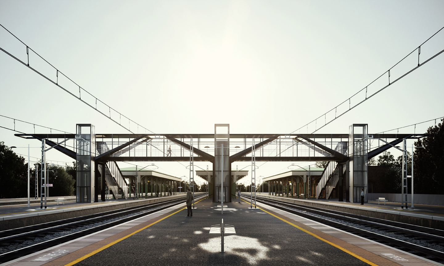 Shortlisted, Network Rail Footbridge Competiton