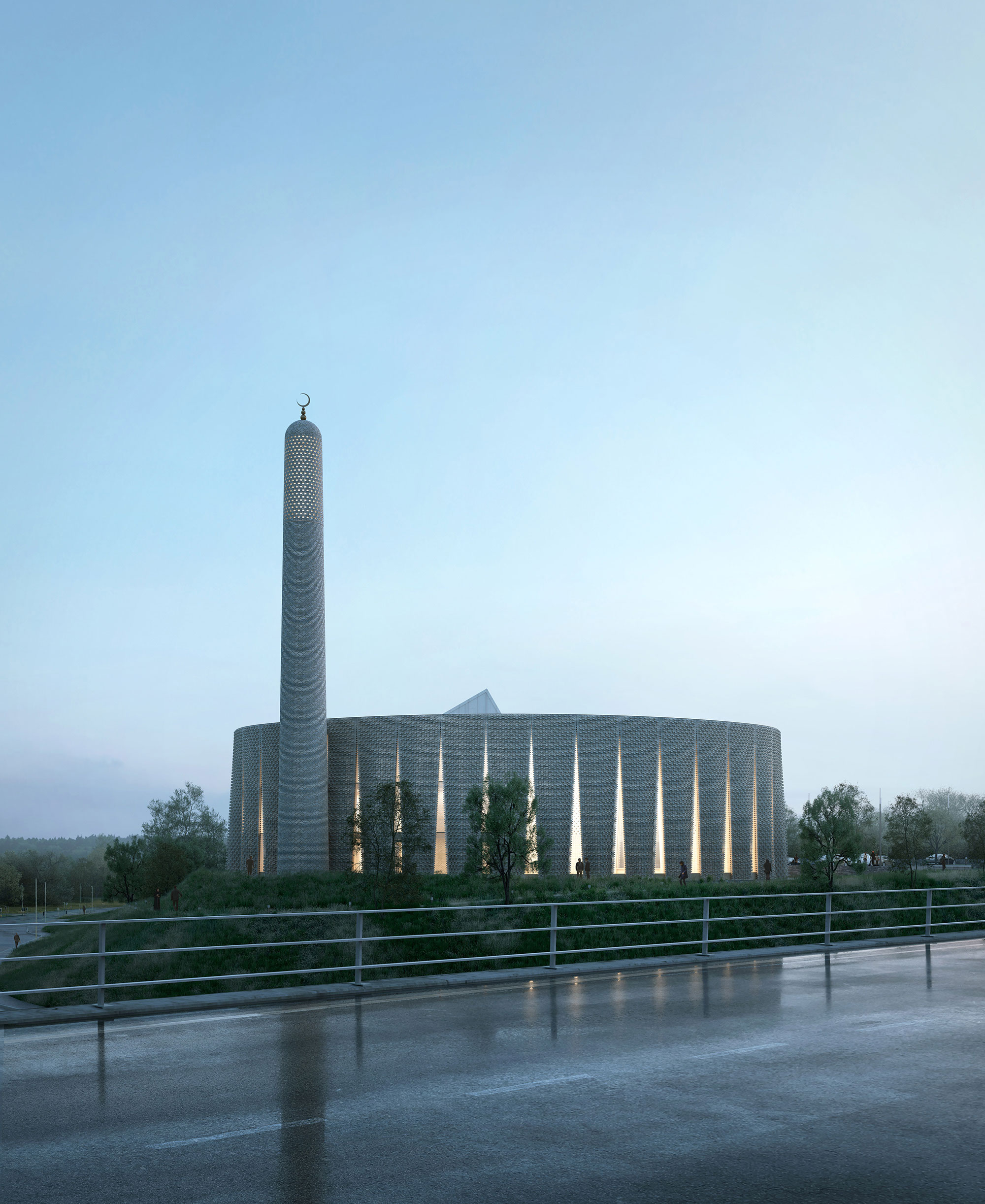 1st Prize, Broughton Mosque Design Competition